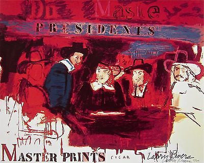 Dutch Masters, Ltd Ed Lithograph & Silk-screen, Larry Rivers - Fine Artwork
