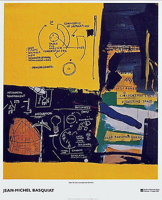 Untitled (1984) - Jean-Michel Basquiat - Fine Artwork