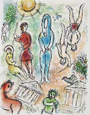 In Hell (The Odyessy) 1989, Ltd Ed Lithograph, Marc Chagall - Fine Artwork