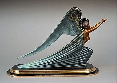 Angel (Bronze), Ltd Ed, Erté - Fine Artwork