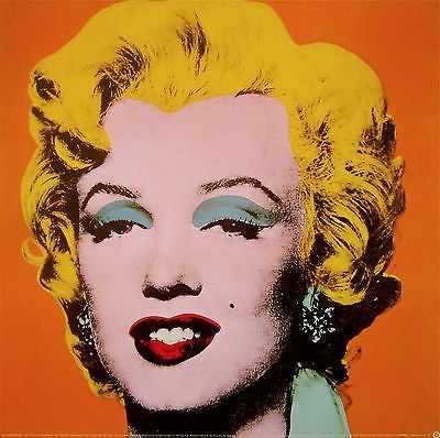 Marilyn Orange, Offset Lithograph, Andy Warhol - Fine Artwork