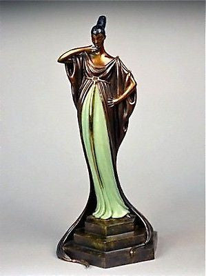 An Evening in 1922 (Bronze), Limited Edition Sculpture, Erte - Fine Artwork
