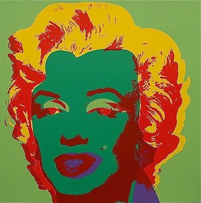 Marilyn #25 (Sunday B. Morning), Silkscreen, Andy Warhol - Fine Artwork