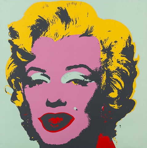 Marilyn #23 (Sunday B. Morning), Silkscreen, Andy Warhol - Fine Artwork