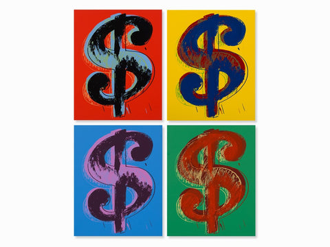 Dollar Sign Suite (Sunday B. Morning) - Andy Warhol - Fine Artwork
