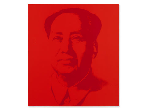 Mao (Red) Sunday B. Morning, Silk-screen, Andy Warhol - with COA - Fine Artwork