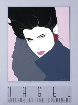 Commemorative #7, Ltd Ed Silk-screen Poster, Patrick Nagel - Screen-signed - Fine Artwork