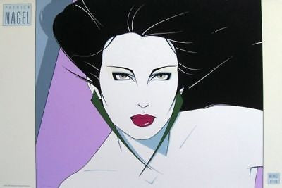 Commemorative #15, Ltd Ed Silk-screen Poster, Patrick Nagel - Screen-signed - Fine Artwork