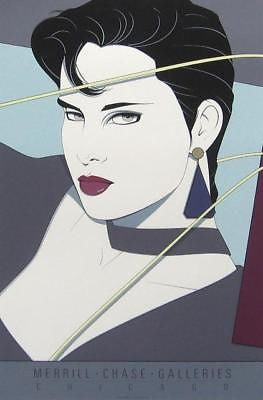Commemorative #11, Ltd Ed Silk-screen Poster, Patrick Nagel - Screen-signed - Fine Artwork