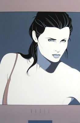 Commemorative #14, Ltd Ed Silk-screen Poster, Patrick Nagel - Screen-signed - Fine Artwork