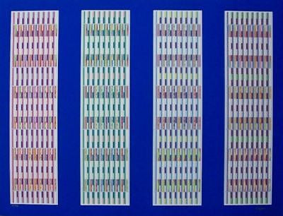 Four Visual Orchestrations, Ltd Ed Silk-screen, Yaacov Agam - Fine Artwork