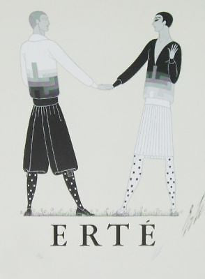 Modern Sports Dress for Men, 1968 Ltd Ed Exhibition Poster, Erté - Fine Artwork
