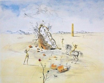 Cosmic Horseman, Ltd Ed Offset Lithograph, Salvador Dali - Fine Artwork