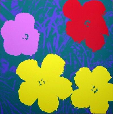 Flowers #65 (Sunday B. Morning), Silk-screen, Andy Warhol - with COA - Fine Artwork