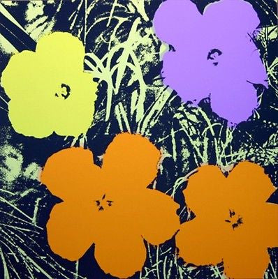 Flowers #67 (Sunday B. Morning), Silk-screen, Andy Warhol - with COA - Fine Artwork