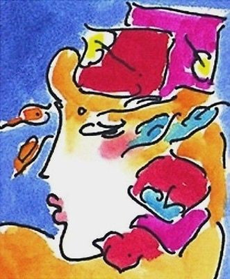 Profile Series I by Peter Max - Fine Artwork