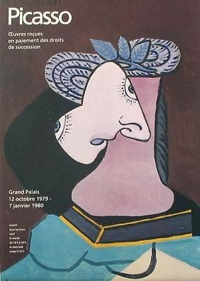 Grand Palais, 1979 Ltd Ed Exhibition Poster, Pablo Picasso - Fine Artwork