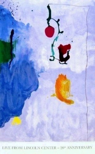 Eve, 1996 Ltd Ed Exhibition Silk-screen Poster, Helen Frankenthaler - Fine Artwork