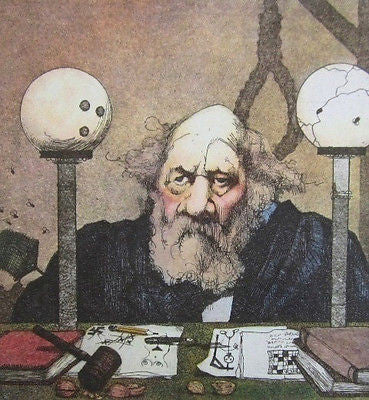 Hanging Judge, Color Lithograph, Charles Bragg - Fine Artwork