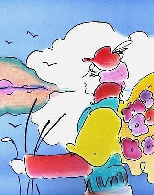 On a Distant Planet by Peter Max - Fine Artwork