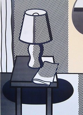Still Life with Table Lamp, Offset Lithograph, Roy Lichtenstein - Fine Artwork
