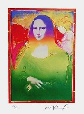 Mona Lisa II by Peter Max - Fine Artwork
