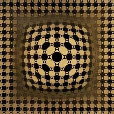 VEGA-JG, Offset Lithograph, Victor Vasarely - Fine Artwork