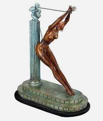 Prisoner of Love (Bronze), Ltd Ed, Erté - Fine Artwork