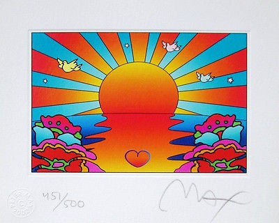 Protect Our Children Ver. I by Peter Max - Fine Artwork