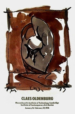 Study for Standing Mitt, 1976 Poster, Claes Oldenburg - Fine Artwork