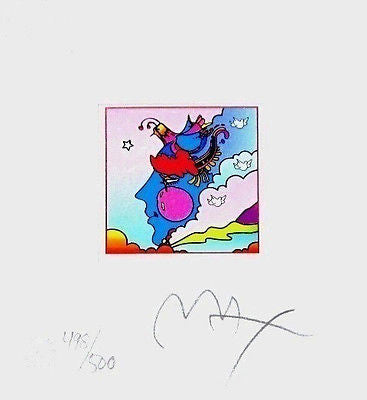 Woodstock Profile Series (Mini) by Peter Max - Fine Artwork