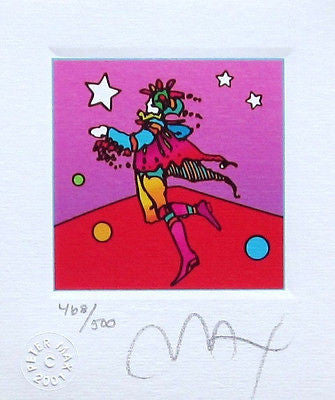 Star Catcher (Mini) by Peter Max - Fine Artwork