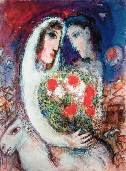 Marriage, Limited Edition Giclee, Marc Chagall - Fine Artwork
