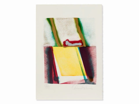 Flashback V, Limited Edition Silkscreen, John Chamberlain