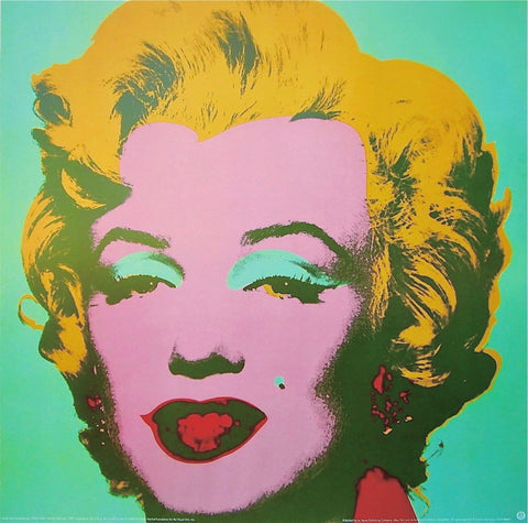 Marilyn Green, Offset Lithograph, Andy Warhol