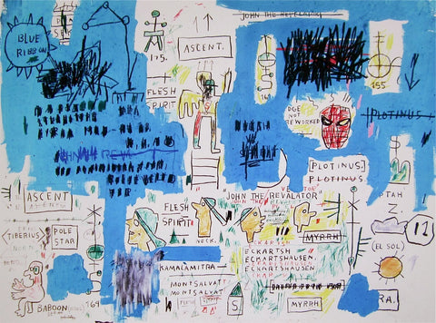 Ascent, Giclee Print, Jean-Michel Basquiat - Fine Artwork