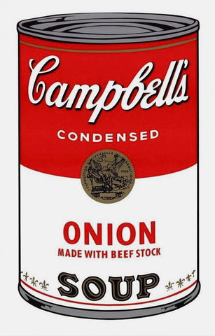 Campbell's Soup Onion, Silkscreen, Andy Warhol - Fine Artwork