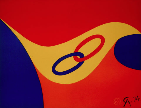 Friendship (Flying Colors), Limited Edition Lithograph, Alexander Calder - Fine Artwork