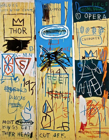 Charles the First (1982), Giclee Print, Jean-Michel Basquiat - Fine Artwork