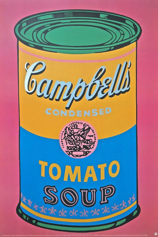 Soup Can Colored, Offset Lithograph, Andy Warhol