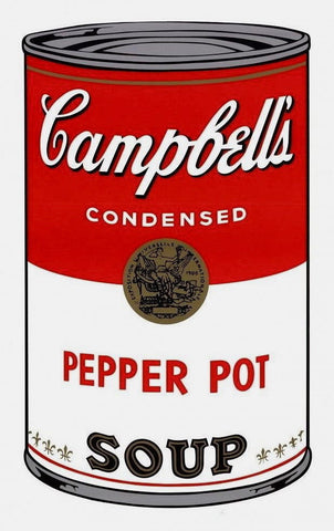 Campbell's Soup Pepper Pot, Silkscreen, Andy Warhol - Fine Artwork