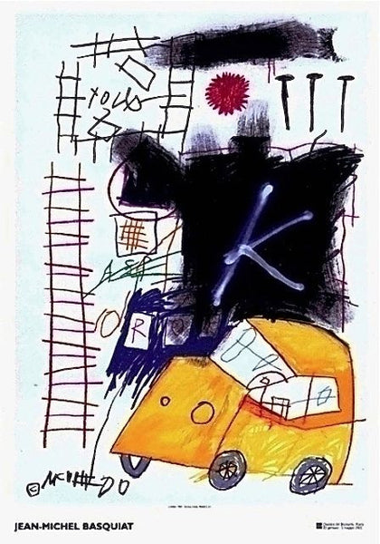 Untitled (1981) - Jean-Michel Basquiat - Fine Artwork