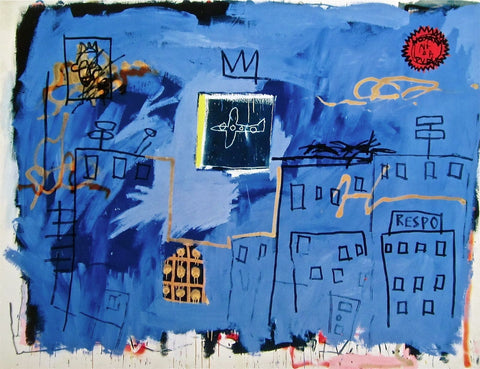 Untitled (1981), Giclee, Jean-Michel Basquiat - Fine Artwork