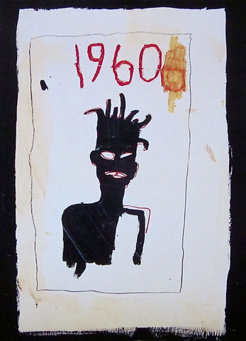 Untitled (1960) - Jean-Michel Basquiat - Fine Artwork