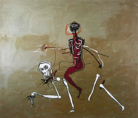 Riding with Death (1988), Giclee Print, Jean-Michel Basquiat - Fine Artwork