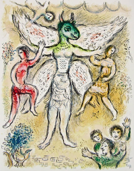 Eupeithes (The Odyessy) 1989, Ltd Ed Lithograh, Marc Chagall - Fine Artwork
