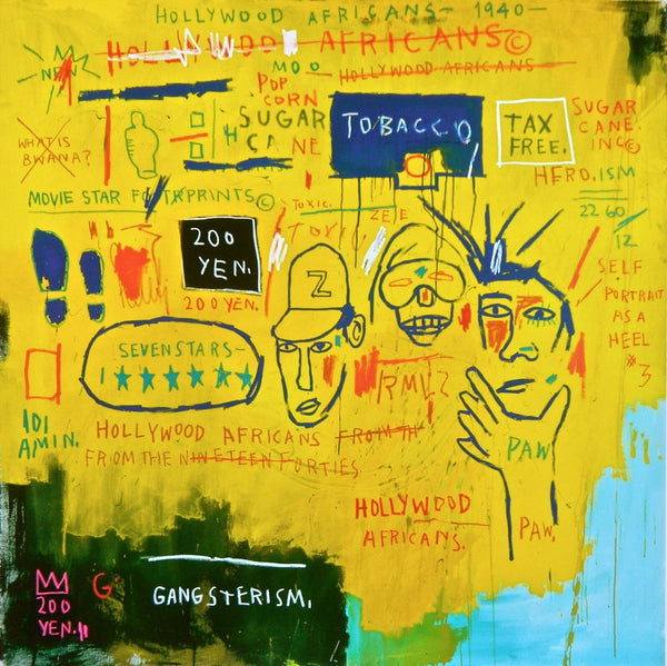 Hollywood Africans (1983), Giclee, Jean-Michel Basquiat