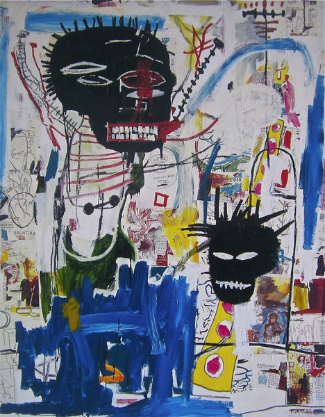 ISBN, Giclee Print, Jean-Michel Basquiat - Fine Artwork