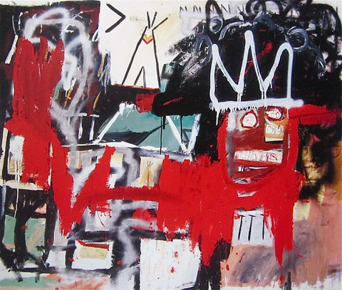 Untitled - Jean-Michel Basquiat - Fine Artwork