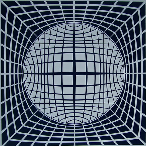 TER-UR, Ltd Ed Silk-screen, Victor Vasarely - Fine Artwork